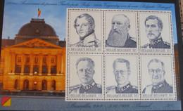 Bloc 80 - 1999 Les 6 Rois Belges - 150 Ans De Timbres Poste Belges - Blocks & Sheetlets 1962-....