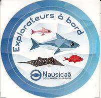 Boulogne Sur Mer-nausicaa-2 Autocollants- - Stickers