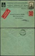 DEL002 - Lettre Par Exprès De Bruxelles à Genève ( Suisse Switzerland ) 1934 - Storia Postale