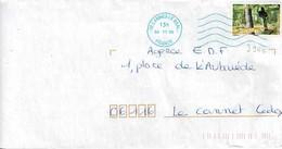 TP N° 3944 Seul Sur Enveloppe De Cannes Le Béal - 1961-....
