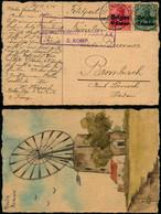 DEL006 - Carte Occupation De Feldpost Station à Brombach 1915 - Moulin De Renaix - Altre Lettere