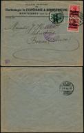 DEL010 - Lettre  Occupation De Liège à Bern ( Suisse Switzerland ) 1916 Charbonnage - Altre Lettere