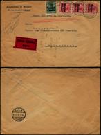 DEL011 - Lettre Par Exprès Occupation De Bruxelles à Schaerbeek 1916 - Altre Lettere