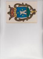 STEMMA LAVORATO A MANO IN PANNO ORIGINALE D'EPOCA  PRIMI 900 - Rugs, Carpets & Tapestry