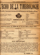 Echo De La Timbrologie 1 Reproduction à Mon Avis ! - Frans (vanaf 1941)