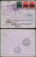 DEL016 - Lettre Occupation De Bruxelles à Genève ( Suisse Switzerland ) 1915 Hotel - Altre Lettere
