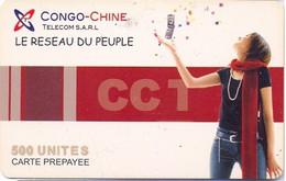 ZAIRE : CON01 500u CONGO-CHINE Sarl CTT USED - Congo