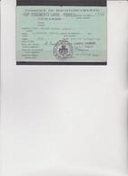 TESSERA : 400° REGGIMENTO LAVOR. - PIONIERI - COMANDO. RILASCIATA NEL 1944- - Documentos