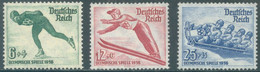 REICH - 1935 - MNH/*** LUXE - OLYMPIC WINTER GAMES GARMISCH -  Mi 600-602 Yv 559-561 - Lot 22986 - Unused Stamps