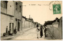 CANET-PLAGE - Une Rue - Voir Scan - Canet Plage