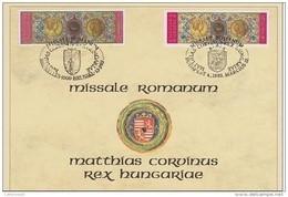 Carte Souvenir 2492HK - Version Hongroise - Herdenkingskaarten