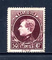 BE   291B   Obl   ---    Nuance Lie De Vin Brunâtre  --  Bel état. - 1929-1941 Grand Montenez