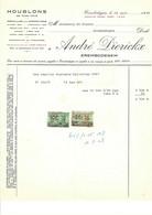 Erembodegem ; Factuur 1958 - André Dierickx - Houblons - Unclassified
