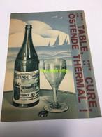 BROCHURE - BOEKJE OSTENDE  OOSTENDE THERMAL CURE - Tourism Brochures