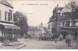 BONNEUIL Rue De L'Eglise Animée    703 - Bonneuil Sur Marne