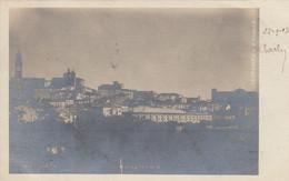 MACERATA-PANORAMA- CARTOLINA VERA FOTOGRAFIA-VIAGGIATA IL 22-9-1907 - Macerata