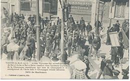 10 - TROYES -20000 Vignerons Des Arrondissements Revendiquent Leur Titre De Champenois ..Défilé Des Manifestants - Troyes