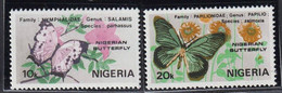 NIGERIA - Faune, Papillons - Y&T N° 408-411 - MNH - 1982 - Nigeria (1961-...)