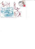 Enveloppe Philatélique 1993 20e Anniv Assoc Sportive De St Memmie Illustrée Par R. Irolla - Non Classificati