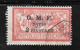 SYRIE N° 68 OB TB SANS DEFAUTS - Usati