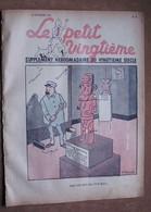Tintin - Petit Vingtième N°8 Du 25/02/1937 -Hergé - Kuifje