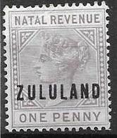 Zululand Mh *6 Euros - Zululand (1888-1902)