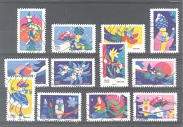 France Autoadhésifs Oblitérés (Série Complète : Mon Spectaculaire Carnet De Timbres 2020) (lignes Ondulées) - Used Stamps