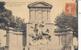 Lille Cimetière Du Sud Monument Aussssx Soldats Allemands Morts Aucours De La WW1 Peu Courant TBE - Lille