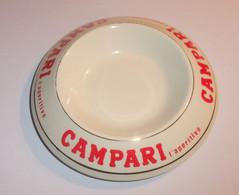 Cendrier Campari L'aperitivo - Porcelaine Orchies - Ohne Zuordnung