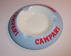 Cendrier Campari - Porcelaine Orchies - Ohne Zuordnung