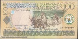 TWN - RWANDA 29b - 100 Francs 1.9.2003 Prefix AJ UNC - Rwanda