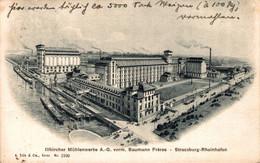 78802- Illerkircher Mühlenwerke Straßburg Strasbourg Rheinhafen 1911 - Straatsburg