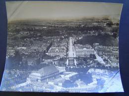 GRANDE PHOTOGRAPHIE AERIENNE Ancienne 1919 : STRASBOURG / ALSACE / BAS RHIN - 67 - Places