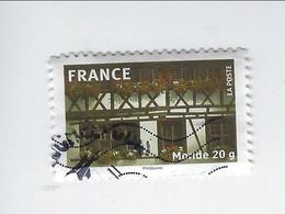 La France En Timbres Adhésif N° 329 Oblitéré 2009 - Sellos Autoadhesivos