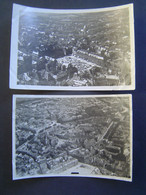 2 X PHOTOGRAPHIE AERIENNE Ancienne 1919 : PLACE KLEBER / STRASBOURG / ALSACE / BAS RHIN - 67 - Places
