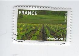 La France En Timbres Adhésif N° 332 Oblitéré 2009 - Sellos Autoadhesivos