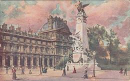 CPA PARIS - MONUMENT DE GAMBETTA - Unclassified