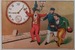 Cartes D'adresse Pour Horlogers - Adress-Karten Für Uhrmacher - Horloge - Uhr - Horlogerie Brabant, Corcieux - Otros