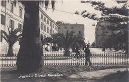SASSARI-PIAZZA CAVALLINO-CARTOLINA VERA FOTOGRAFIA- NON VIAGGIATA -1920-1930 - Sassari