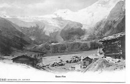 CPA - SUISSE - SAAS FEE - VERS 1900 - EDITION BURGY A SAINT IMIER - CARTE NON POSTEE TRES BON ETAT - VS Valais