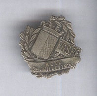 Badge Concours De Gymnastique Metz 25 Juillet 1920 - Très Bon état - Altri