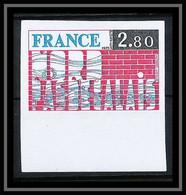 France N°1852 Région Nord - Pas-de-Calais 1975 Non Dentelé ** MNH (Imperf) - Ongetand