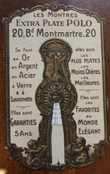 """Publicité A Systeme Pour Les Montres """" POLO """"   , * VP 132 - Watches: Old"""