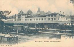 J137 - SUISSE - WINTERTHUR - Bahnhof Mit Den Perrons - ZH Zurich