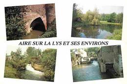 62 - Aire Sur La Lys - Et Ses Environs - Multivues - CPM - Voir Scans Recto-Verso - Aire Sur La Lys