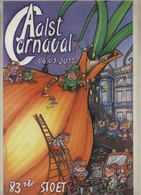 Aalst Karnaval - Kleine Geplastifieerde Affiche (A4 Formaat) 83ste Stoet Aalst Carnaval 06.03.2011 - Carnival