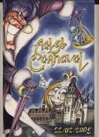 Aalst Karnaval - Kleine Geplastifieerde Affiche (A4 Formaat) Aalst Carnaval 22/02/2009 - Carnival