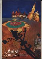 Aalst Karnaval - Kleine Geplastifieerde Affiche (A4 Formaat) Aalst Carnaval 03.02.2008 80ste Stoet - Carnival