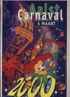 Kleine Geplastifieerde Affiche (A4 Formaat) Aalst Carnaval 5 Maart 2000 (Ontwerperscollectief: Chris De Winne) - Carnival