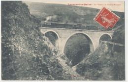 81 - Lacaune Les Bains - Le Viaduc De Gourp Fumant - Train Vapeur - Otros Municipios